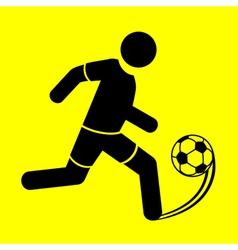 Symbol soccer vector