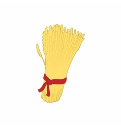 Sheaf of wheat icon cartoon style vector image