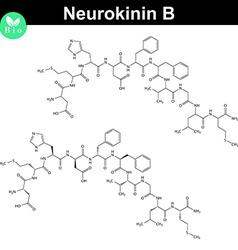 Neurokinin b chemical formula vector