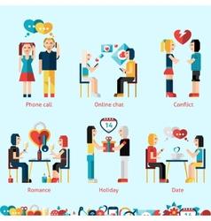 Relationship concepts set vector