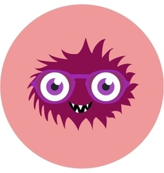 set of cartoon cute monsters and aliens vector image