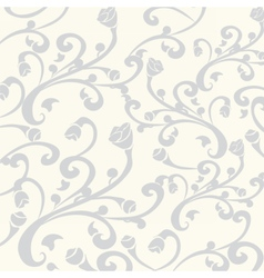 Gothic style vintage floral pattern vector