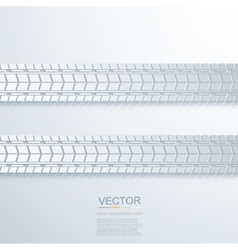 Modern trace of the tire background vector