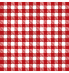Table cloth pattern vector