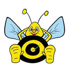 Lazy bumble bee vector