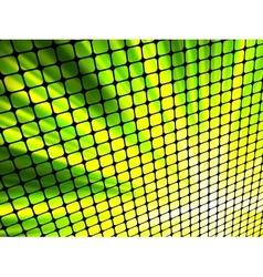 Light 3d mosaic vector