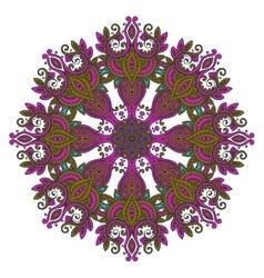 Abstract color design mandala decorative vector