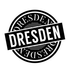 Dresden stamp typ vector
