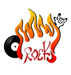 Rock vector image