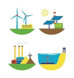 Alternative energy source set vector