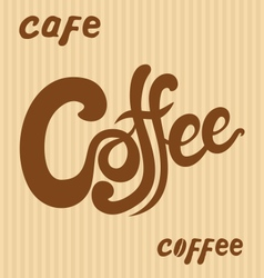 Hand drawn coffee signs vector