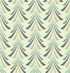 Seamless christmas pattern stylized ornament of vector