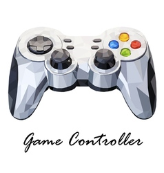 Showing game controller vector