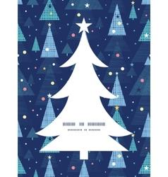 Abstract holiday christmas trees christmas tree vector