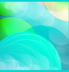 Abstract overlay circle background with circles vector