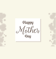 Mother day background style collection vector
