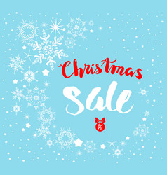 snow nature sale vector image vector image