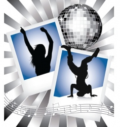 music and dance vector image