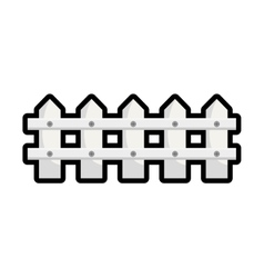 Fence icon barrier design graphic vector