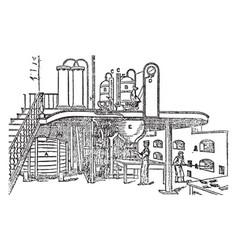 Danglish apparatus vintage vector