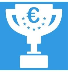 Euro award cup icon vector