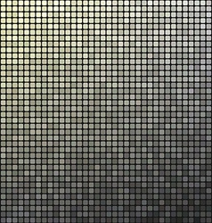 Grey pixel mosaic design background vector