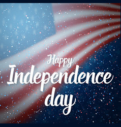Independence day of usa poster 4th of july vector