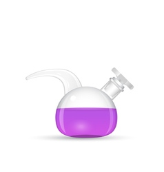 Chemical retort lab tool vector