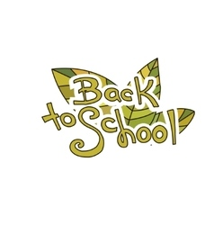 Back to School Sketchy Doodles vector image vector image