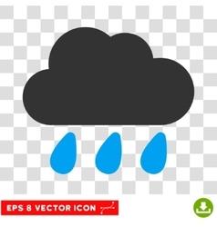 Rain Cloud Eps Icon vector image vector image