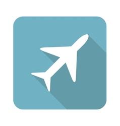Square plane icon vector image vector image