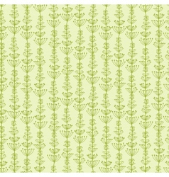 Underwater Plants Stripes Seamless Pattern vector image vector image