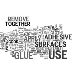 Which glue to use for the job text word cloud vector
