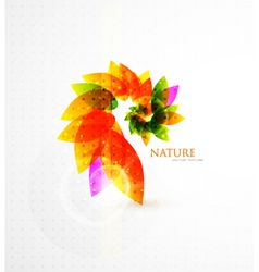 Nature transparency vector