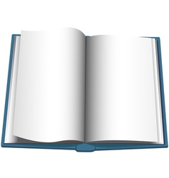 Open Book Page vector image