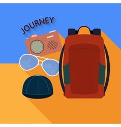 Things to travel vector