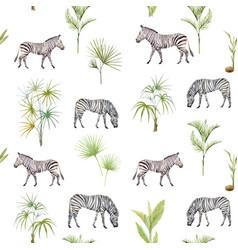 Watercolor afriacnan pattern vector