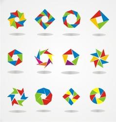 Colorfull logo template vector
