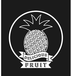 Delicious fruit vector