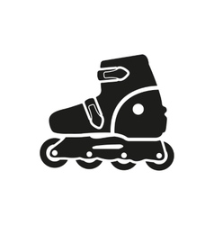The roller skate icon skates symbol flat vector