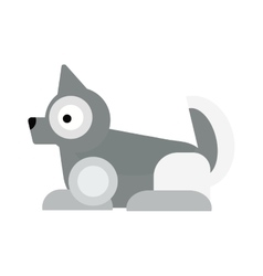 Eskimo dog vector