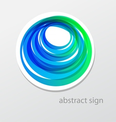 abstract sign vector image