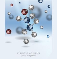 Ethanol background image vector