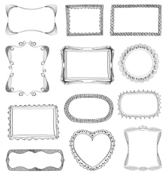 frames coll vector image