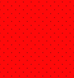 Poppy seeds seamless pattern background Round vector image vector image