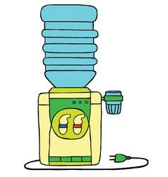 Water dispenser vector