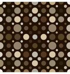 Abstract seamless background of circles vector