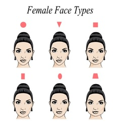 Face shape vector