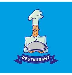 Chef emblem vector