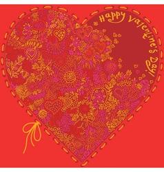 Beautiful valentine vector image vector image